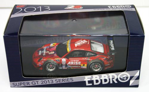 Ebbro 44953 NAC ARISE DR PORSCHE SUPER GT 300 2013 No.9 Red 1/43 Scale