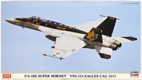 Hasegawa 02175 F/A-18E Super Hornet VFA-115 Eagles Cag 2015 1/72 Scale Kit