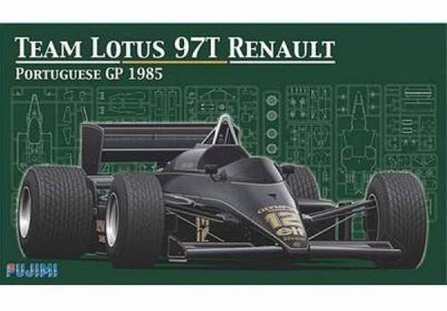 Fujimi GP SP16 F1 Team Lotus 97T Renault Portuguese GP 1985 1/20 Scale Kit