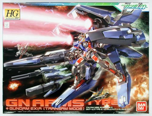 Bandai HG OO 13 GN ARMS TYPE E + Gundam EXIA (Transam Mode) 1/144 Scale Kit