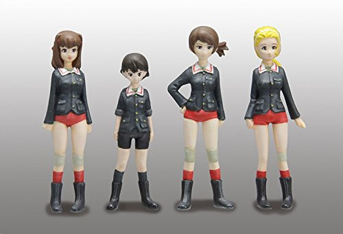 Fine Molds 41105 Girls & Panzer der Film Ahiru-san Team Figure Set 1/35 Scale Kit