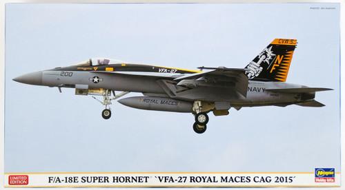 Hasegawa 02178 F/A-18E Super Hornet VFA-27 Royal Maces Cag 2015 1/72 Scale Kit