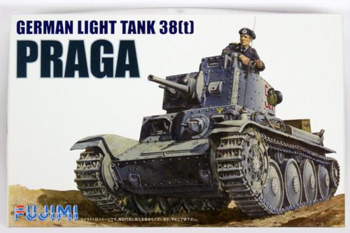 Fujimi WA04 World Armor German Light Tank 38t Praga 1/76 Scale Kit