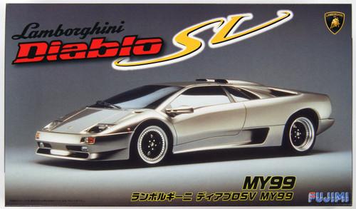 Fujimi RS-79 Lamborghini Diablo SV MY99 1/24 Scale Kit 126340