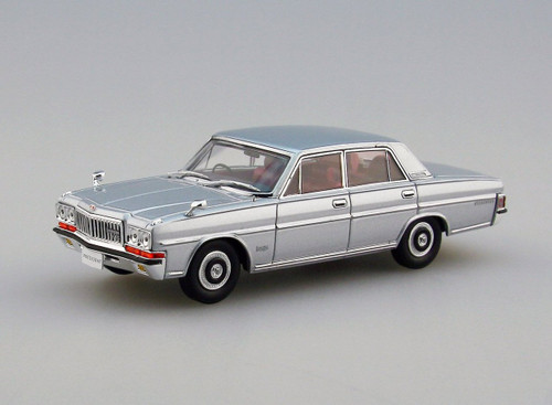 Ebbro 45307 Nissan President 252 Silver 1/43 Scale