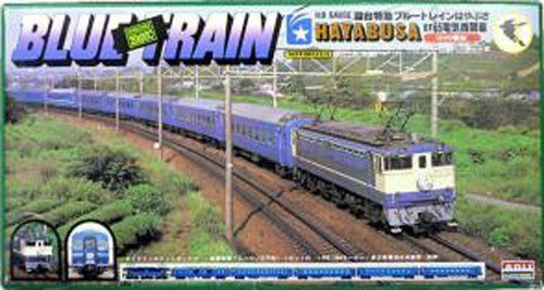 Arii 702031 EF65TYPE Blue Train Hayabusa 1/80 Scale Kit