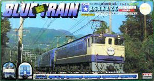 Arii 702048 EF65TYPE Blue Train Asakaze 1/80 Scale Kit