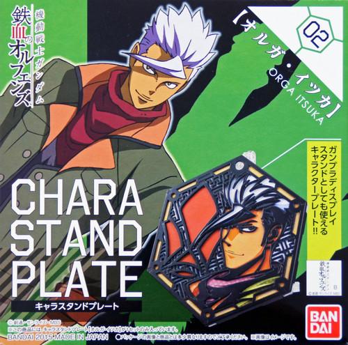 Bandai Iron-Blooded Orphans Character Stand Plate 02 ORGA ITSUKA
