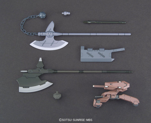 Bandai Iron-Blooded Orphans Option Set 3 & Gjallarhorn Mobile Worker 1/144 Scale Kit