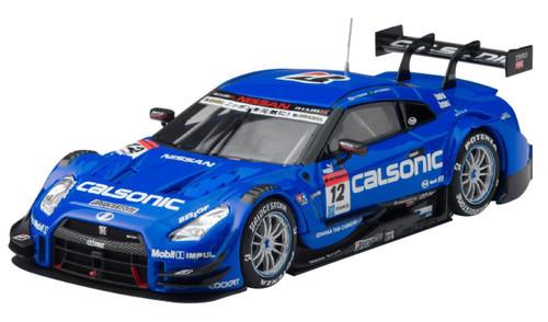 Ebbro 45261 CALSONIC IMPUL GT-R SUPER GT500 2015 Rd.1 Okayama No.12 1/43 Scale