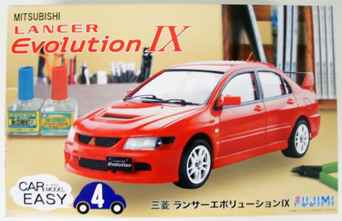 Fujimi Car-Easy 04 Mitsubishi Lancer Evolution IX 1/24 Scale Kit