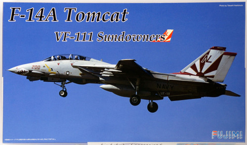 Fujimi F01 F-14A Tomcat VF-111 Sundowners 1/72 Scale Kit 722771