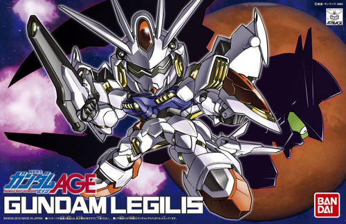 Bandai SD BB 374 Gundam Gundam Legilis Plastic Model Kit