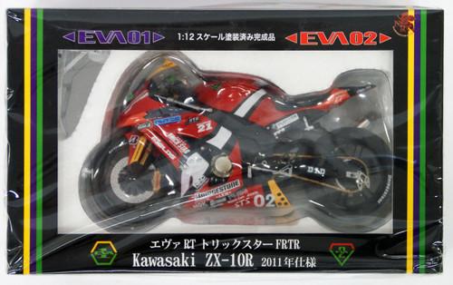 Fujimi 152493 Evangelion RT 02 Kawasaki ZX-10R 2011 1/12 Scale Resin Model