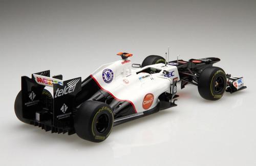 Fujimi 804514 Sauber C30 Japan Grand Prix 1/20 Scale finished model