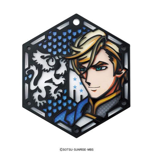 Bandai Iron-Blooded Orphans Character Stand Plate 04 MCGILLIS FAREED