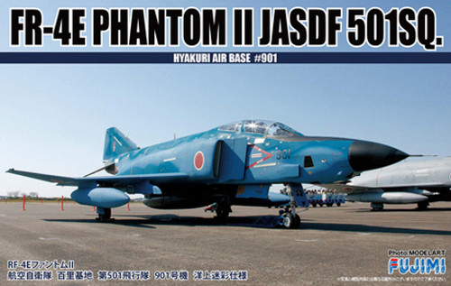 Fujimi F02 FR-4E Phantom II JASDF 501SQ (Hyakuri Air Base #901) 1/72 Scale Kit 722788