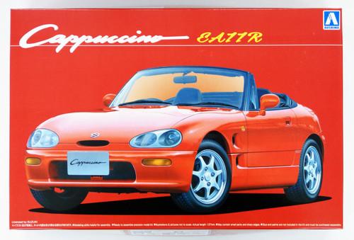 Aoshima 51498 Suzuki Cappuccino EA11R 1/24 Scale Kit