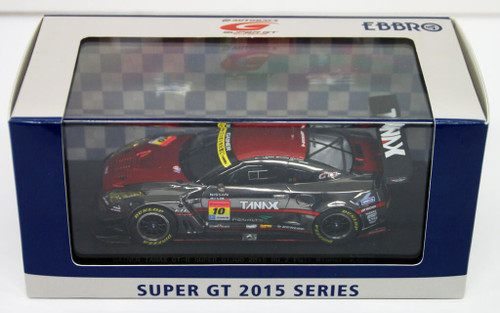 Ebbro 45291 GAINER TANAX GT-R SUPER GT300 2015 Rd.2 Fuji Winner No.10 RD/SL