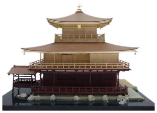 Fujimi Tatemono-4 Kinkakuji (Golden Pavilion) Temple 1/100 Scale Kit