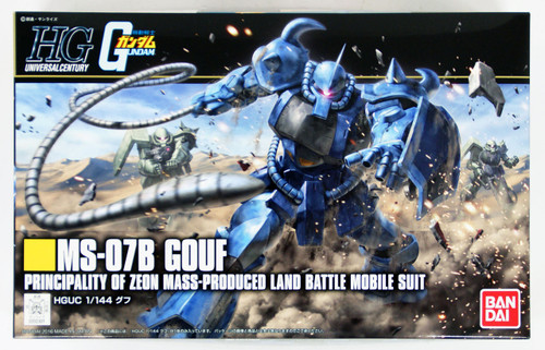 Bandai HGUC 196 Gundam MS-07B GOUF 1/144 Scale Kit
