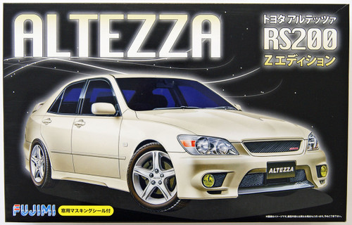 Fujimi ID-27 Toyota Altezza RS200 Z- Edition 1/24 Scale Kit 039503