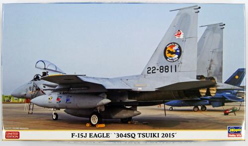 Hasegawa 02196 F-15J Eagle 304SQ Tsuiki 2015 Limited Edition 1/72 Scale Kit