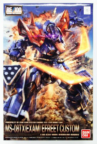 Bandai RE/100 048824 Gundam MS-08 TX (EXAM)  Efreet Custom 1/100 Scale Kit