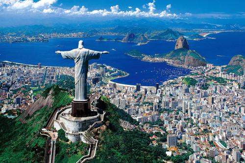 Epoch Jigsaw Puzzle 10-775 Rio de Janeiro Brazil (1000 Pieces)