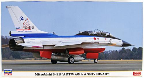 Hasegawa 07435 Mitsubishi F-2B ADTW 60th Anniversary 1/48 Scale Kit