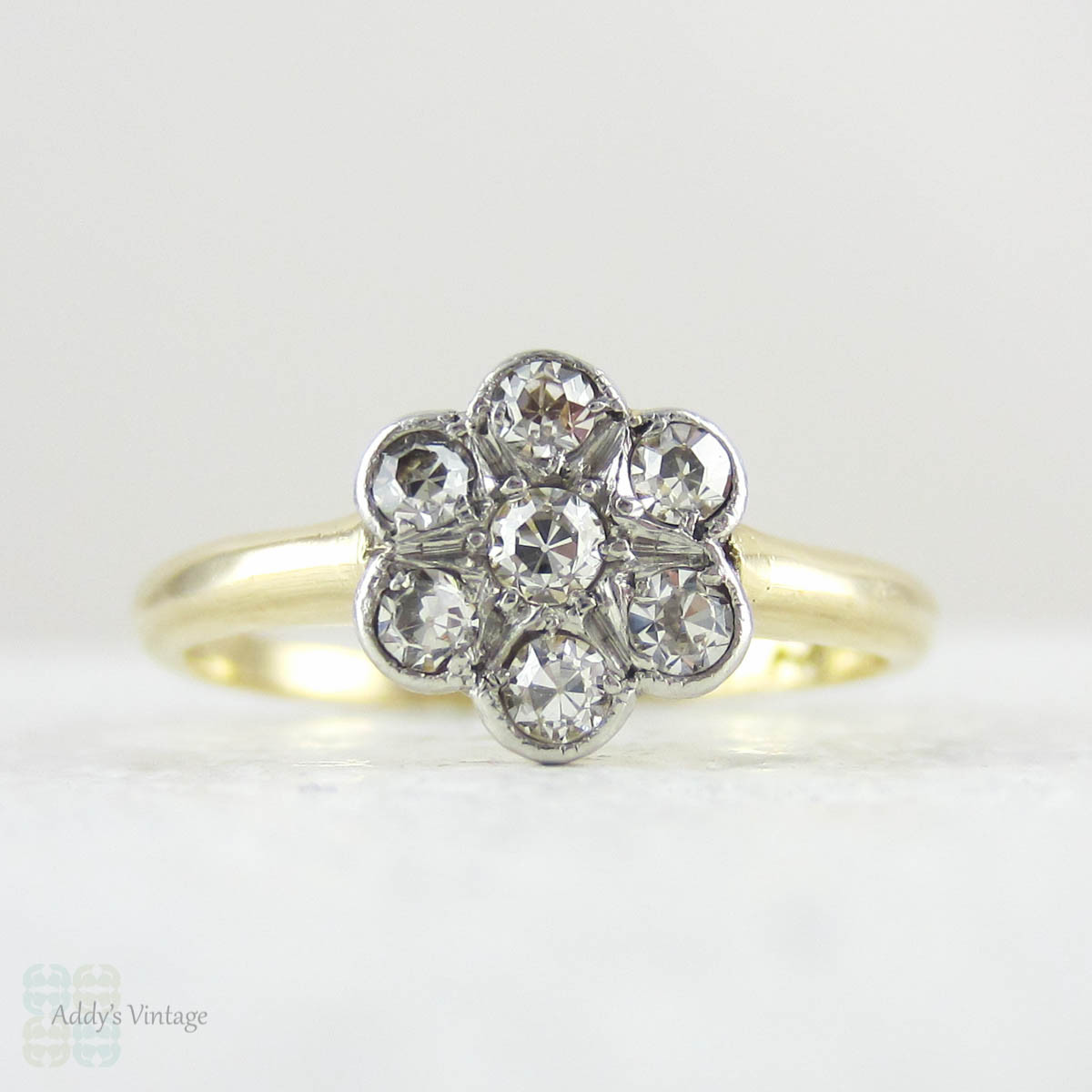 daisy wrap in gold save rings engagement yellow ring open diamond