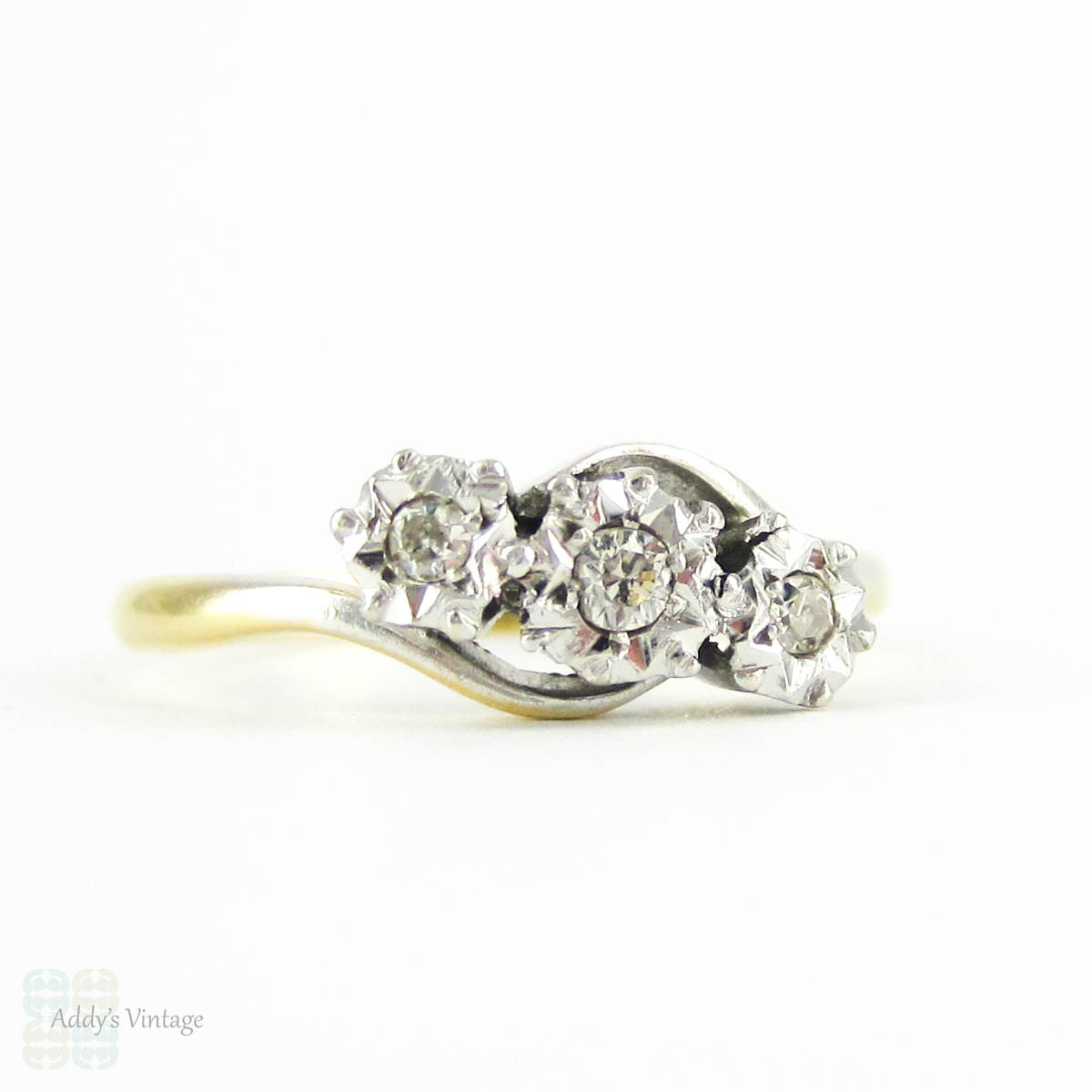 twist trendy engagement features style shaped pin cluster ring twisted rings shank pear this a