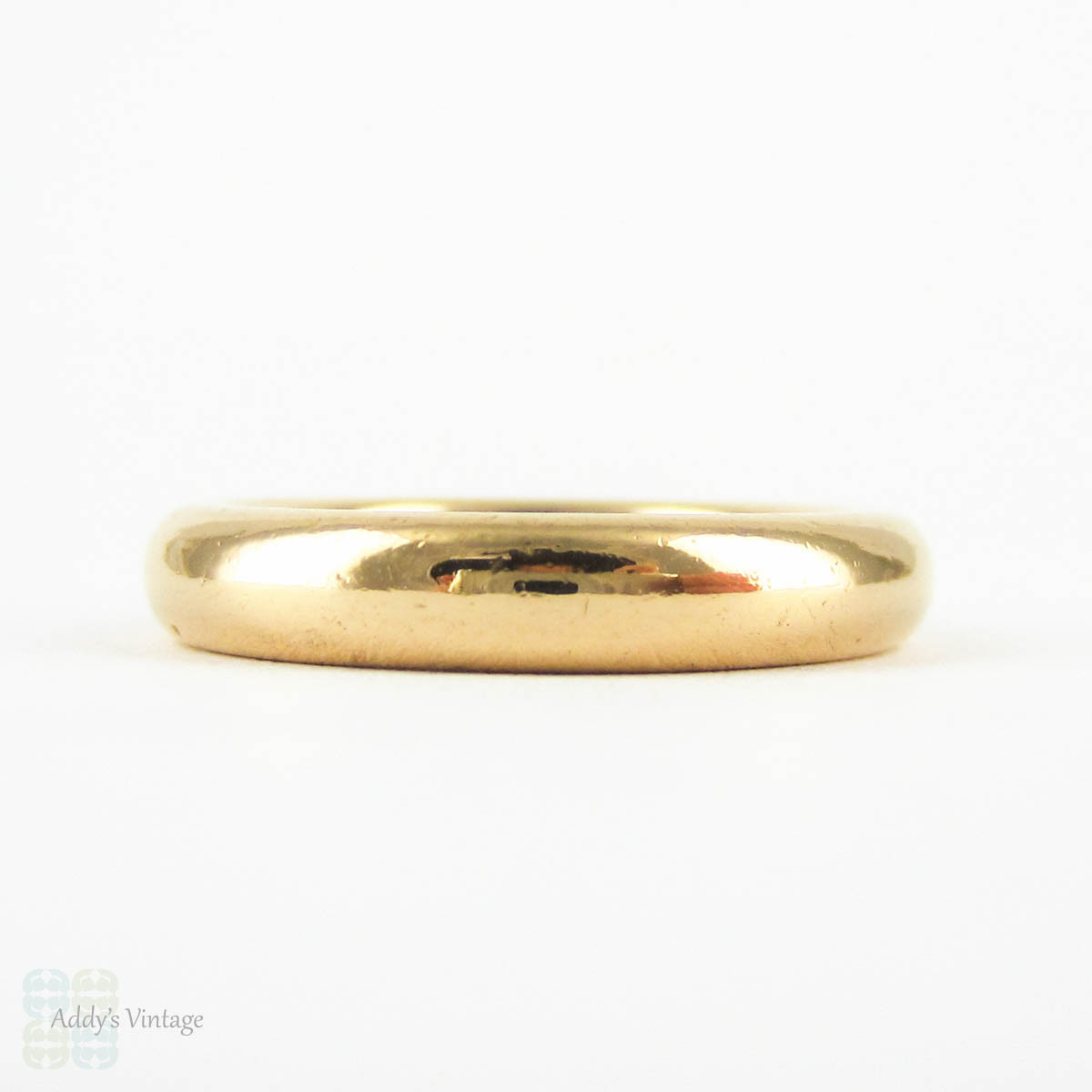 Antique 22 Carat Gold Wedding Ring Heavy 8 4 Gram Court