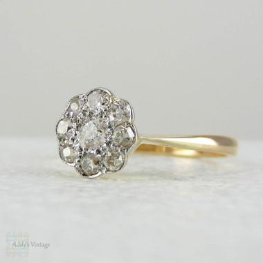 Old Mine Cut Diamond Engagement Ring Uk
