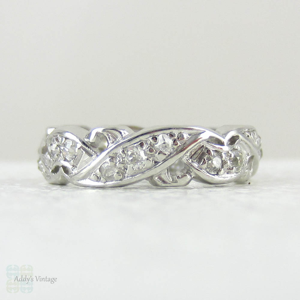 Diamond Eternity Ring Size H