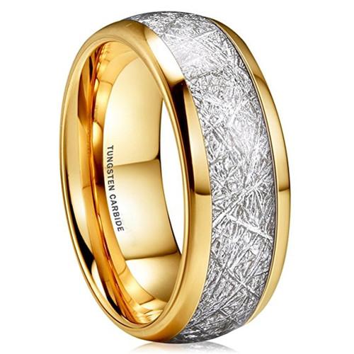 Unisex, Women's Or Men's Tungsten Wedding Band. 14K