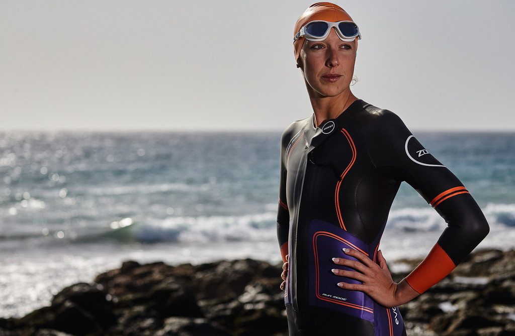 Zone3 - Women's Evolution SwimRun Shorty Wetsuit - 2018