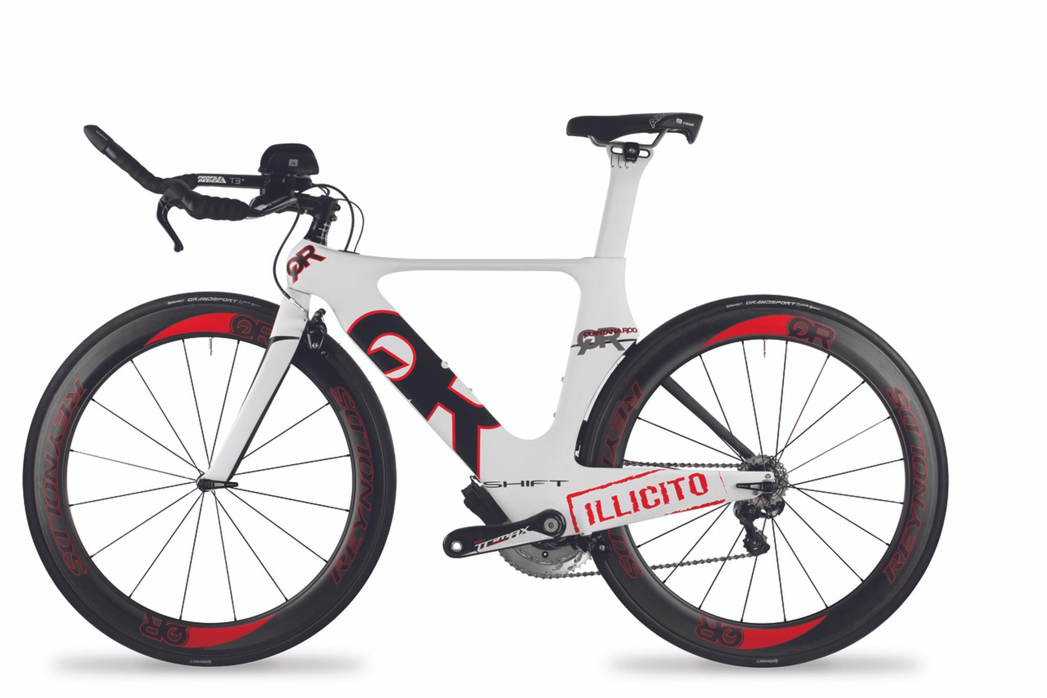 Mytriathlon Triathlon Bike Elite Package Quintana Roo Illicito