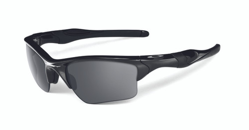 Oakley Sports Performance Half Jacket 2.0 XL Sunglasses - Polished Black Frame - Black Iridium Lens  OO9154-01