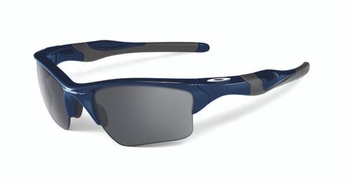 Oakley Sports Performance Half Jacket 2.0 XL Sunglasses - Polished Navy Frame - Black Iridium Lens  OO9154-24