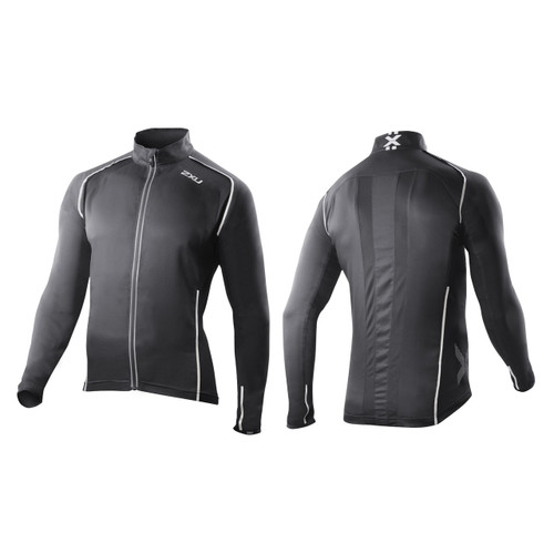2XU Vapor Mesh 360 Run Jacket - Men's - Black