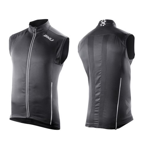 2XU Vapor Mesh 360 Run Vest - Men's - Black