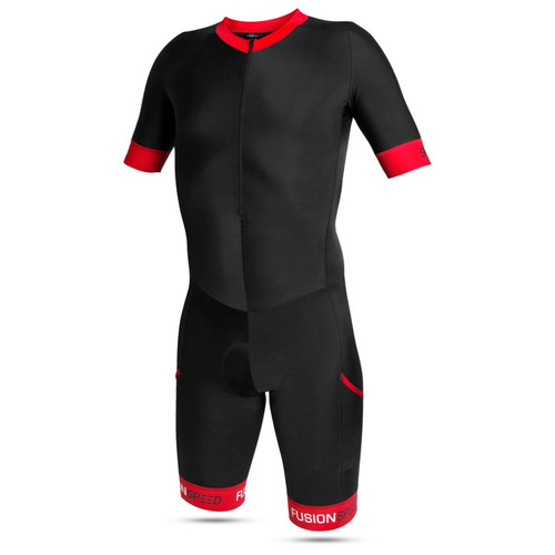 Fusion - Speed Suit - Men's - Black/Red