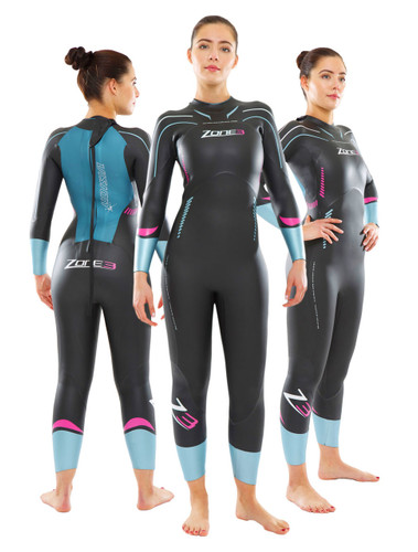 Zone 3 Women's Vision Wetsuit - EX RENTAL Two Hire