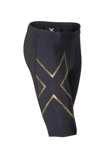 2XU - Men's Elite MCS Compression Short - Black/ Gold
