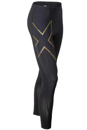 2XU - Men's Elite MCS Compression Tights - Black/ Gold