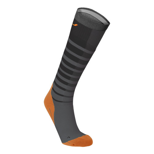 2XU - Men's Striped Compression Run Socks