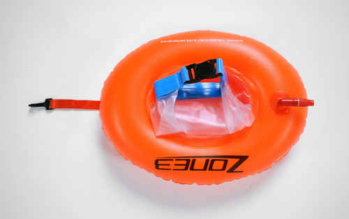 Zone3 - On-The-Go Swim Buoy Dry Bag Donut