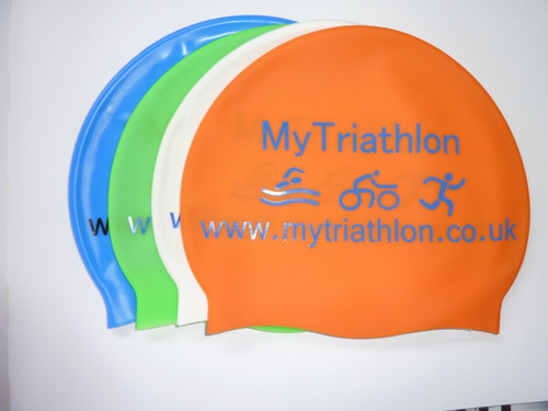 My Triathlon Silicon swim cap