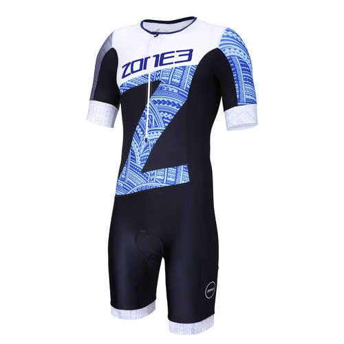Zone3 - Men's Lava Short Sleeve Trisuit - Kona Edition